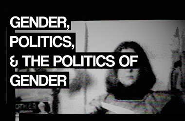 Student Leaders To Hold Gender And Politics Video Art Exhibition