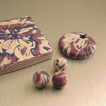 FEATURED COURSE - Ripple Effect Fimo Clay Jewelry