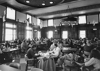 1974 Faculty Lunch Room