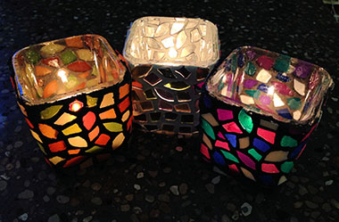 Mosaic Votive Luminary - $5