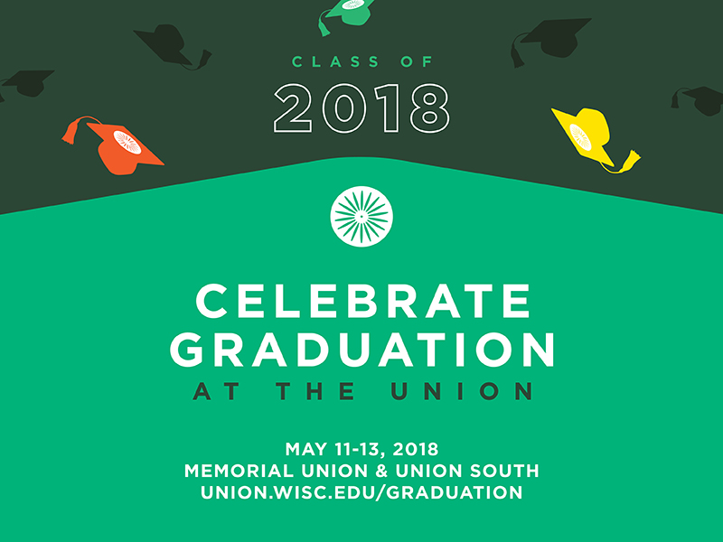 Graduation Events at the Union