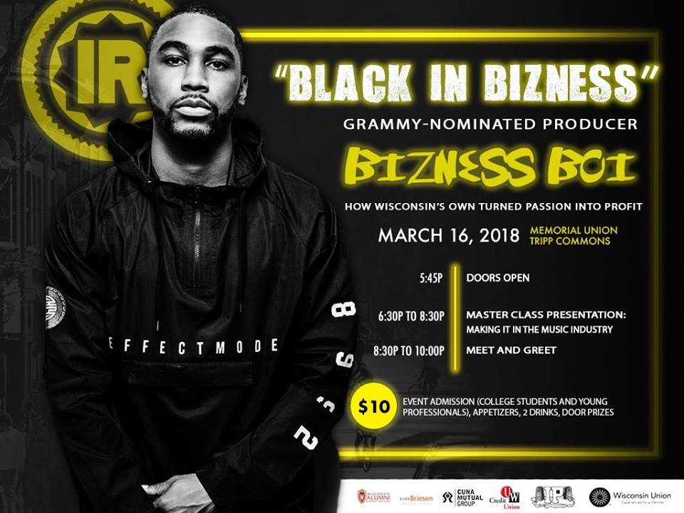 Black in Bizness Slider Image