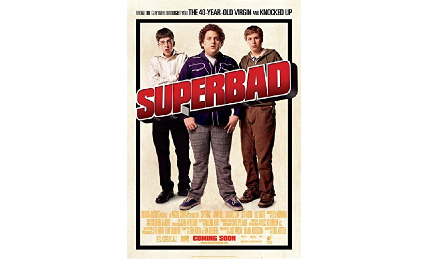 Superbad 2007 Wisconsin Union