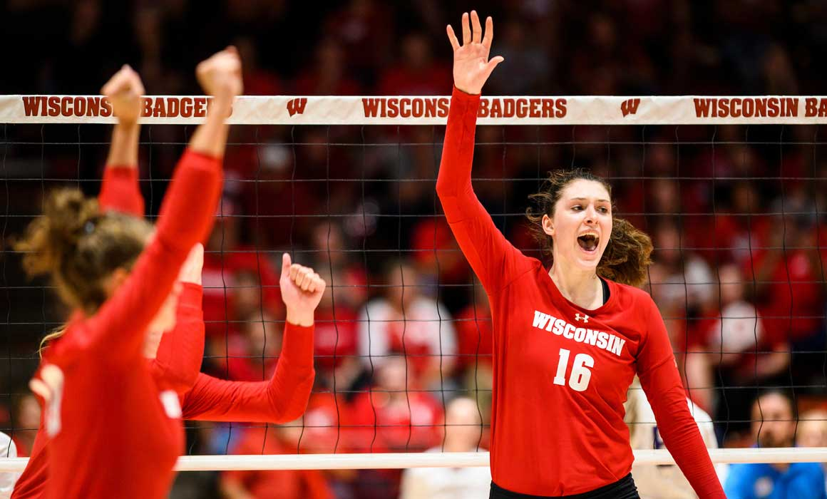 Ncaa Division I Women S Volleyball Championship Gamewatch Wisconsin Union