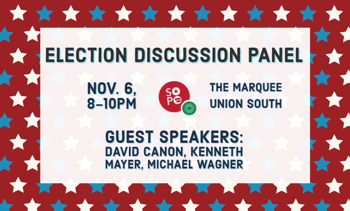 Election Discussion Panel Slider Image