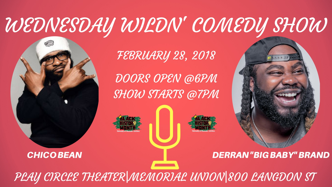 Wednesday WildN Comedy Show  Slider Image