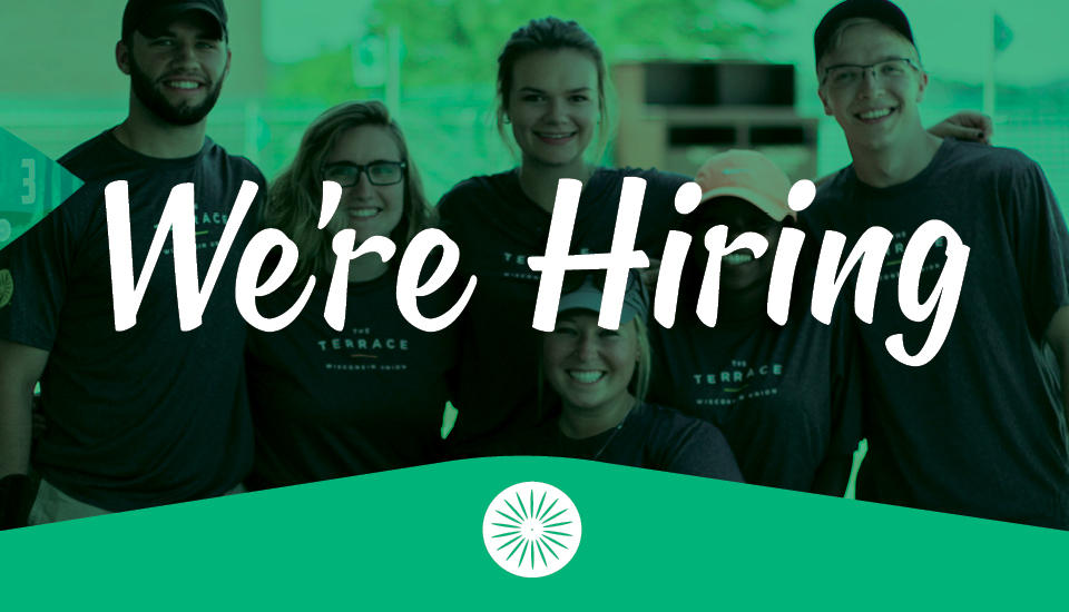 We're Hiring!  Slider Image