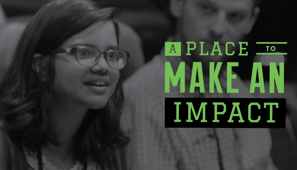 A Place to Make An Impact Slider Image