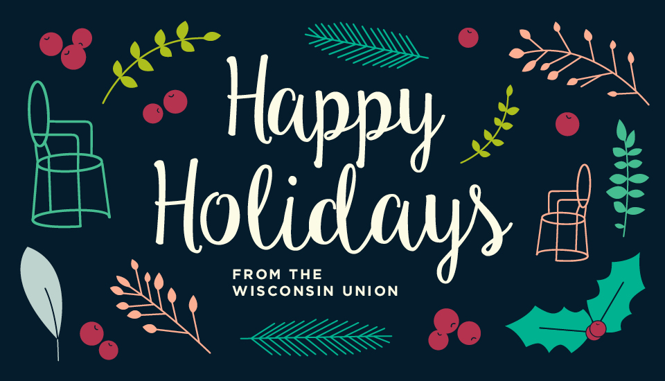 Wisconsin Union Holiday Slider Image