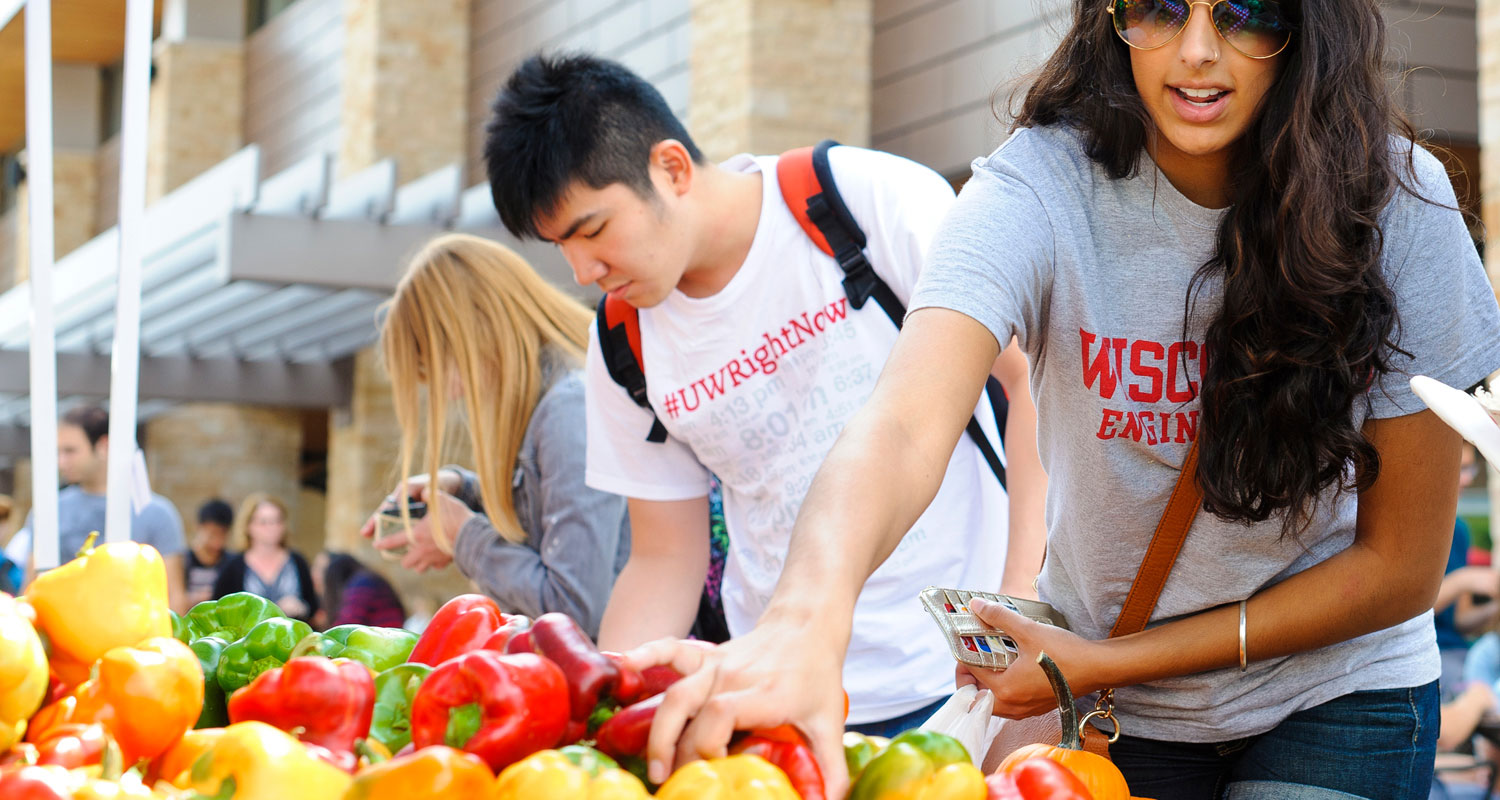 South Madison Farmers Market Has New >> Campus Farmers Market Wisconsin Union
