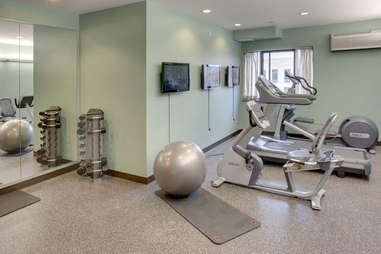 Hotel workout room Slider Image
