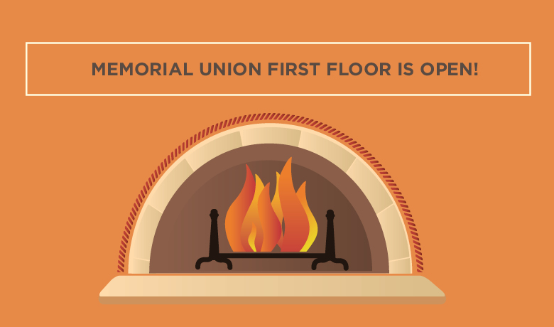 Memorial Union First Floor Open Slider Image