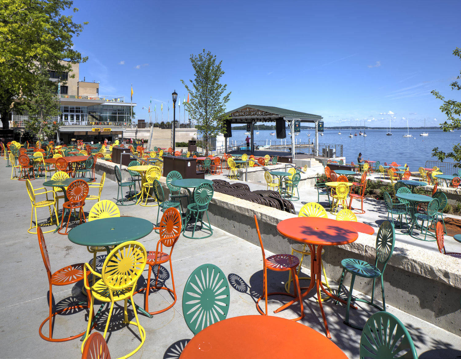 Terrace at memorial union wisconsin union for Madison terrace