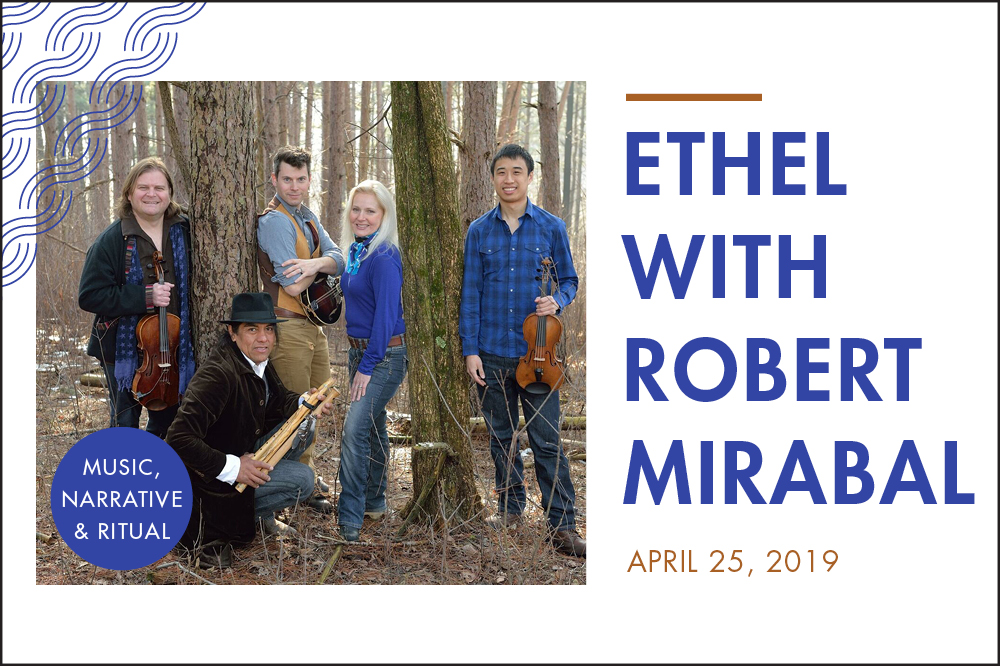 ETHEL w Robert Mirabal Slider Image