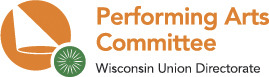 WUD Performing Arts Committee Logo