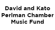 David & Kato Perlman Chamber Music Fund Logo